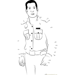 Police Inspector Dot to Dot Worksheet