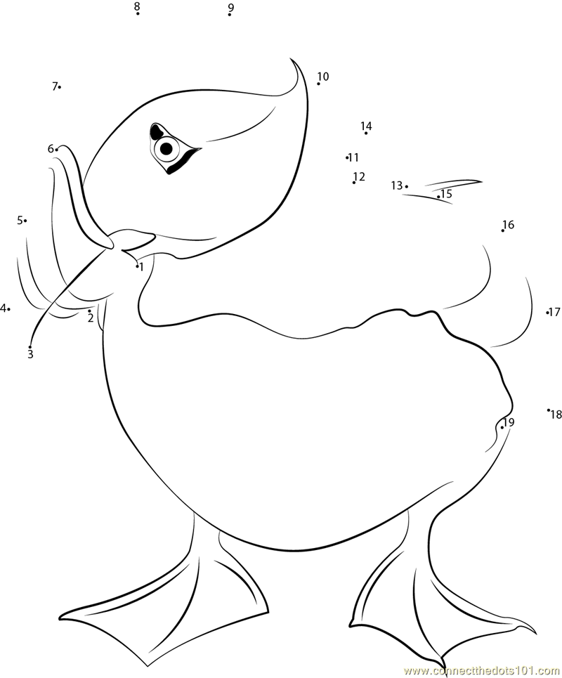 Tufted puffin in seattle washington dot to dot printable for Puffin coloring pages to print