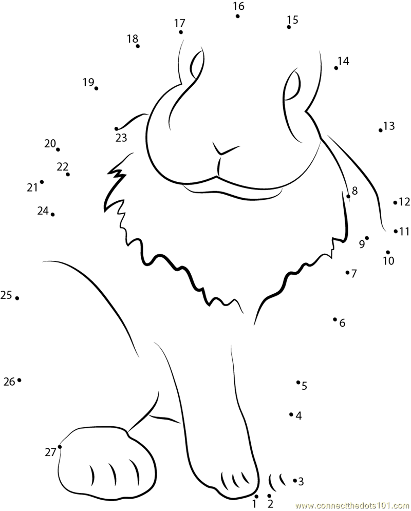 mini lop coloring pages | Lop Eared Pet Rabbit dot to dot printable worksheet ...