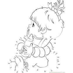 Surprising Rainbow Brite Dot to Dot Worksheet