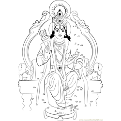 Lord Rama on Singhasan