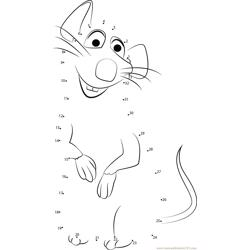Smart Ratatouille Dot to Dot Worksheet