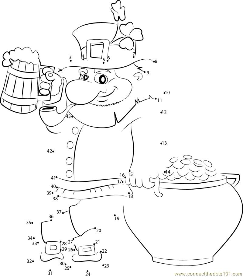 San Patrick For Dots Preschool