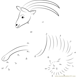 Stylised Sea Goat