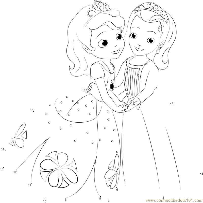 Fairy princess coloring pages for kids
