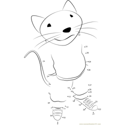 Stuart Little Dot to Dot Worksheet