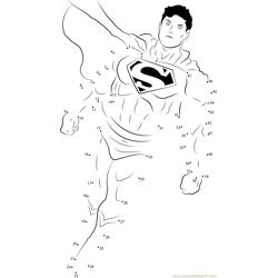 Courageous Superman