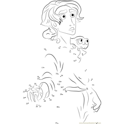 Treasure Planet by Paty-wolf Dot to Dot Worksheet