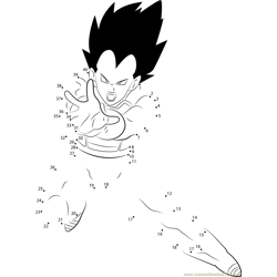 Vegeta by DB Artist