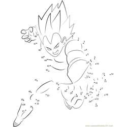 Vegeta in Action
