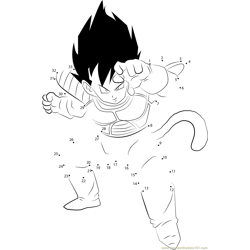 Vegeta in Dragon Ball
