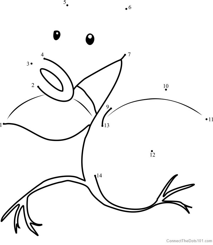 Pokemon Bellsprout Dot To Dot Printable Worksheet