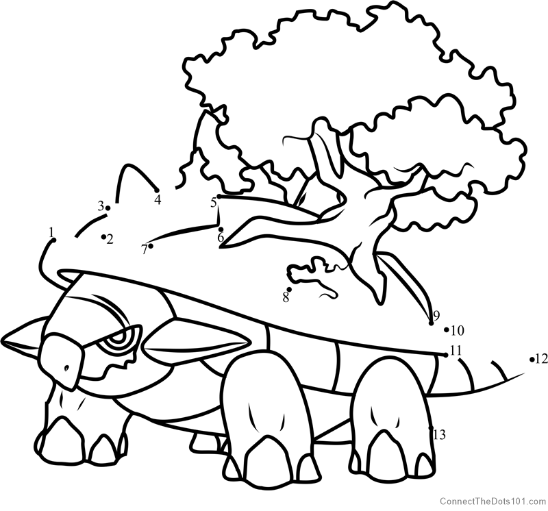 torterra coloring pages-#7