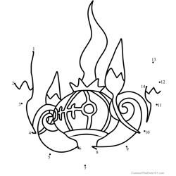 Pokemon Chandelure