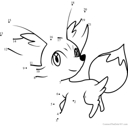 Pokemon Fennekin