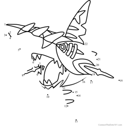 Pokemon Mega Sharpedo