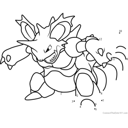 Pokemon Nidoking