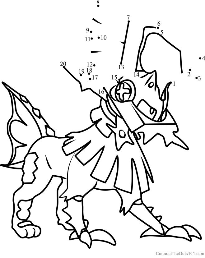 Pokemon Kleurplaten Lycanroc Malvorlagen