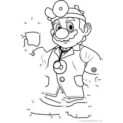 Dr Mario from Super Mario