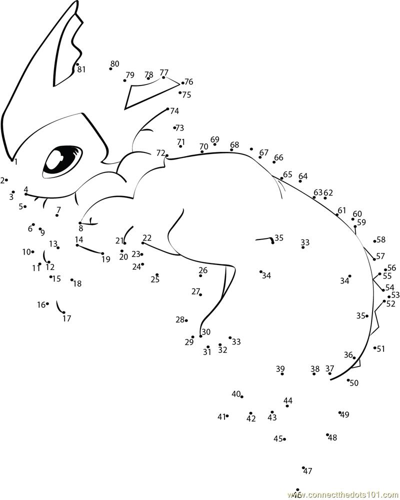 Pokemon Dot To Dot Printables Images | Pokemon Images