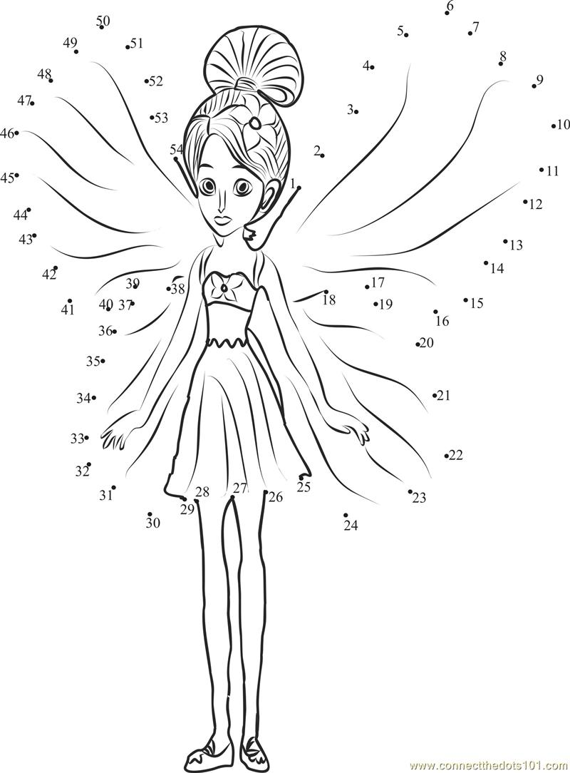 Barbibi dots colouring pages (page 2)