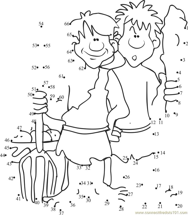 Cain And Abel Bible Story Coloring Pages Car Interior Design