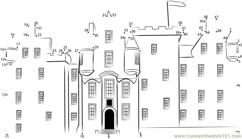 Connect The Dots Blair Castle Facade (Architecture