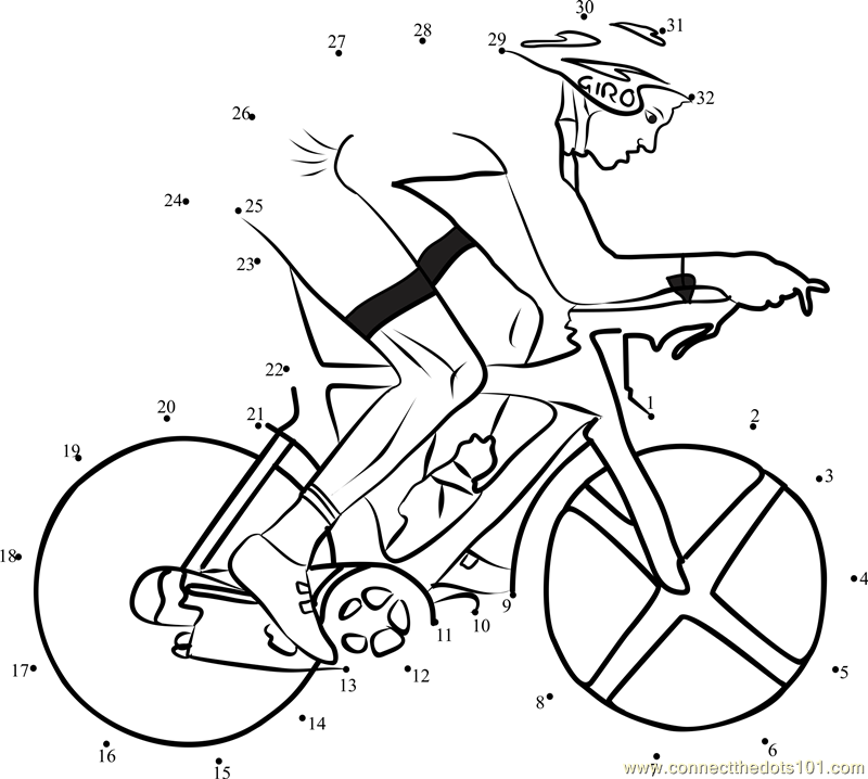 connect the dots sports page sketch coloring page