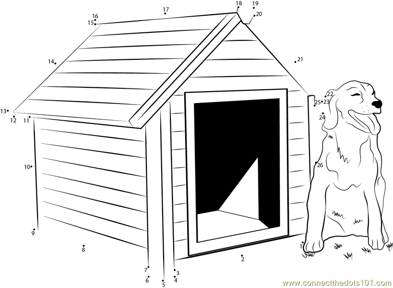 Connect The Dots Diy Heated Dog House Architecture Dog