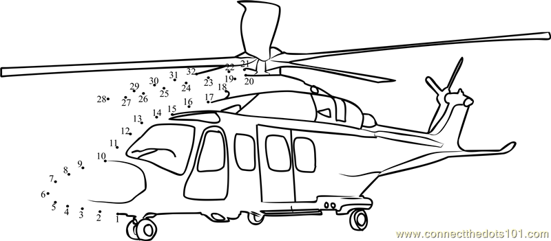 Connect The Dots Business Helicopter (Transporation