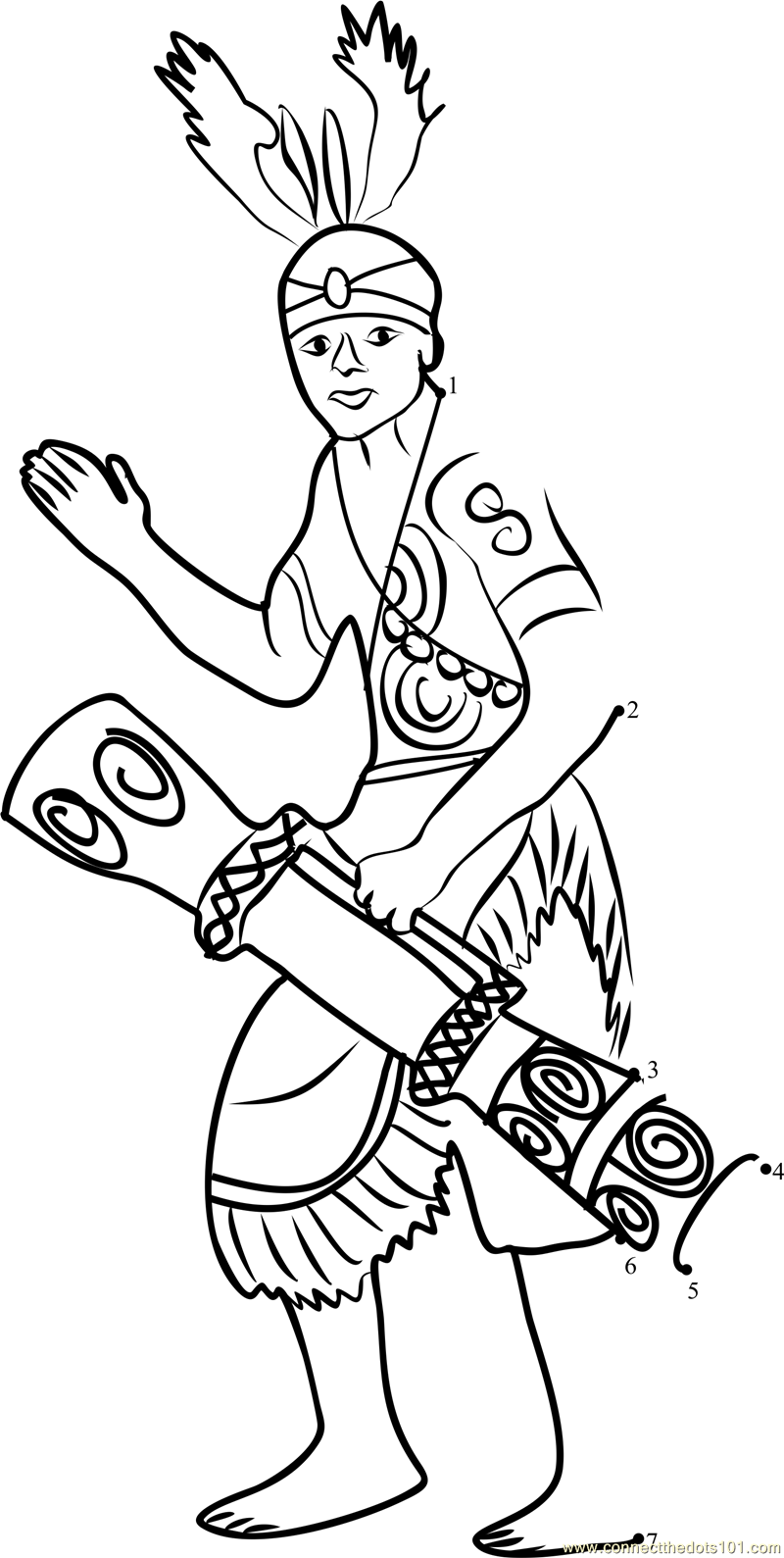indonesian coloring pages - photo#6