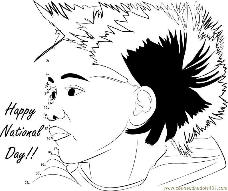 Coloring Pages For Uae National Day : Colouring pages for uae national day happy birthday