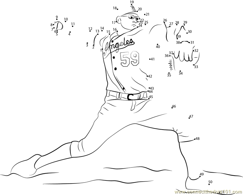 los angeles dodgers coloring pages - photo#36
