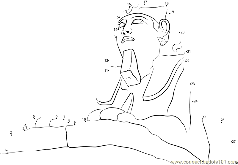 the red pyramid coloring pages - photo#15