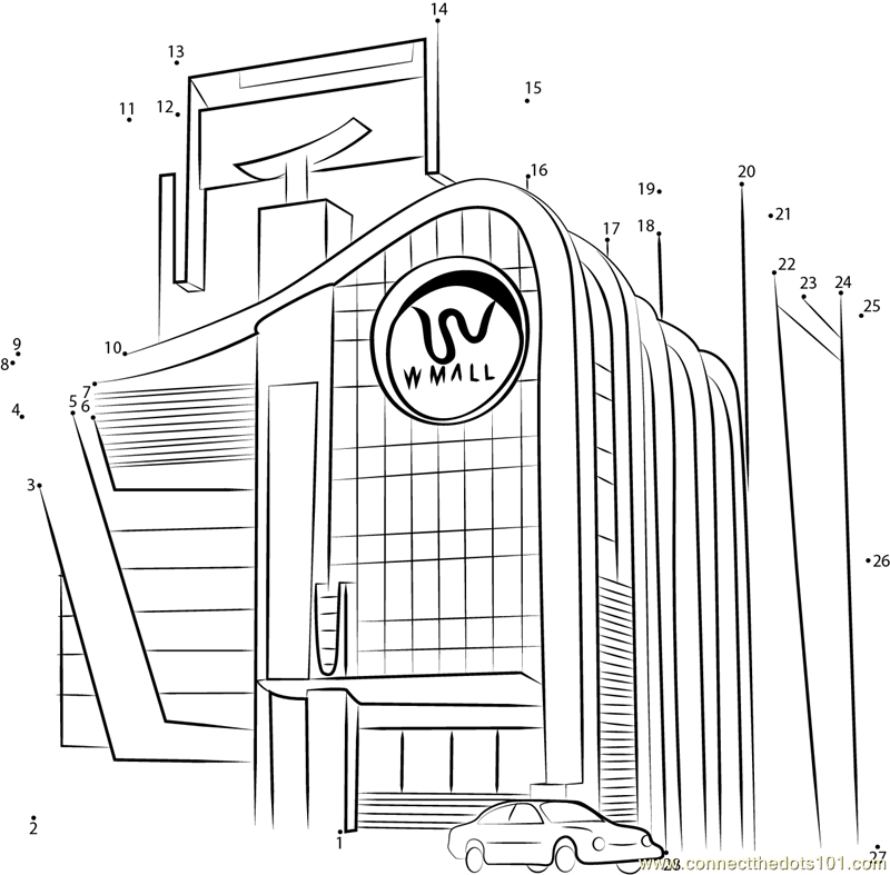 mall coloring pages - photo#13
