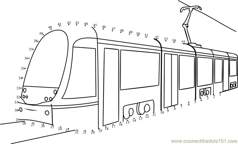 Connect The Dots Passenger Tram Transporation Gt Tram