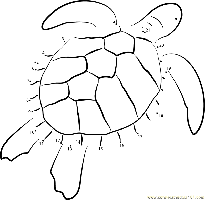 Free coloring pages of dot to dot