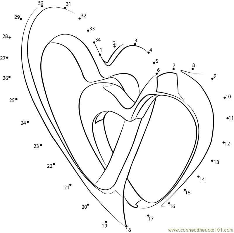 valentine connect the dots coloring pages valentine dot to dot new calendar template site