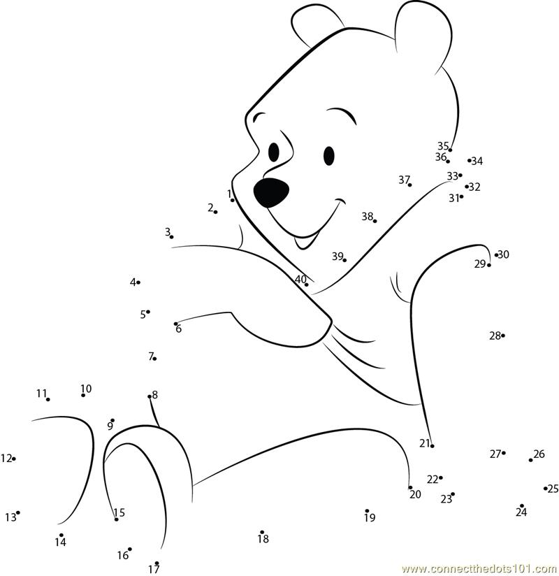 ber dot to dot 1-10 Colouring Pages
